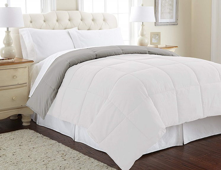 Alternative Down Comforters by Amrapur Up To 40% Off on Amazon!