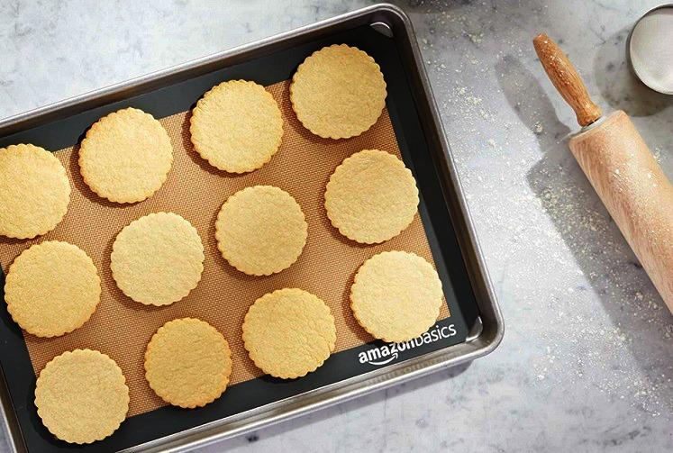 AmazonBasics Silicone Baking Mats 2-Pack Only $8.38 (Reg. $13.99)