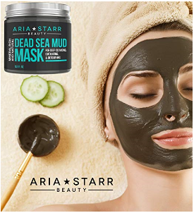 Dead Sea Mud Mask by Aria Starr Just $12.95 on Amazon!