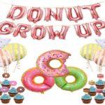 donut party decorations kit