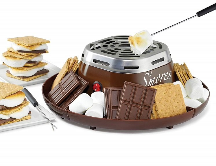 Electric S'mores Maker by Nostalgia $20.50 on Amazon!