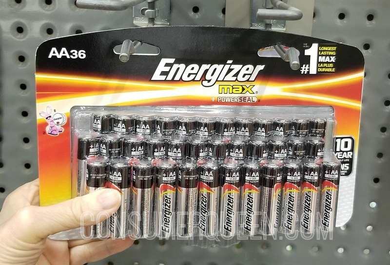 Energizer Max AA Batteries 36-ct. Only $9.97 (Reg. $16) at Home Depot – Today Only