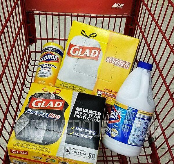 free clorox bleach & wipes