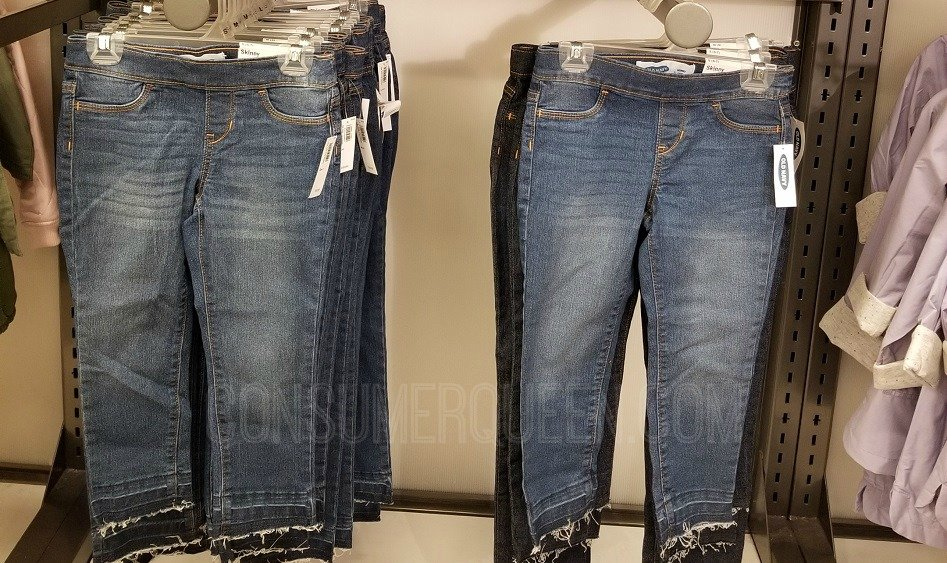 girl's jeans old navy