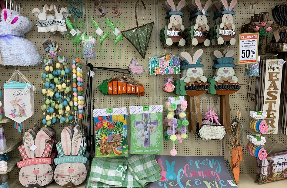 Easter wall hangings on clearance