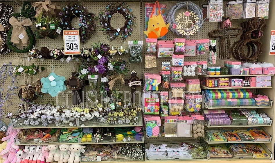 hobby lobby Easter crafts clearance