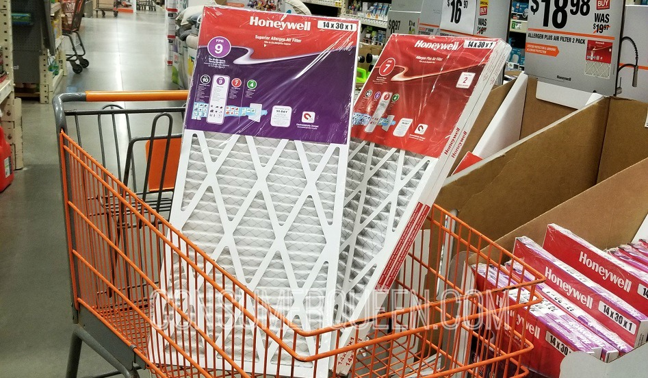 Honeywell Air Filters Only $11.88 at Home Depot Today Only (Reg. $16.97!)