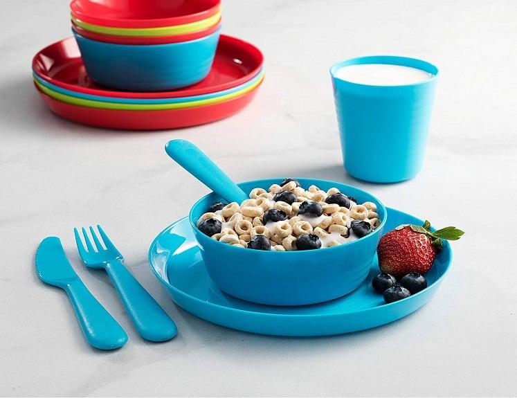 Kids Dinnerware Set – 36 Pieces Only $14.99 on Amazon!