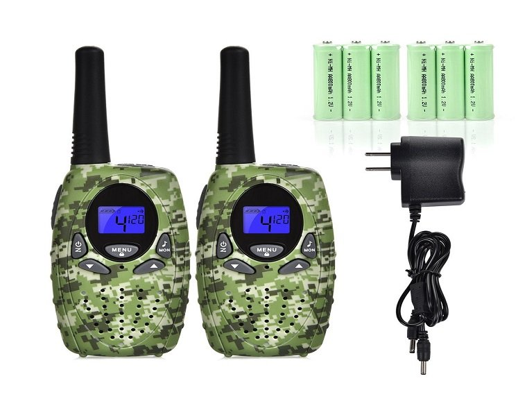 kids rechargeable walkie talkies