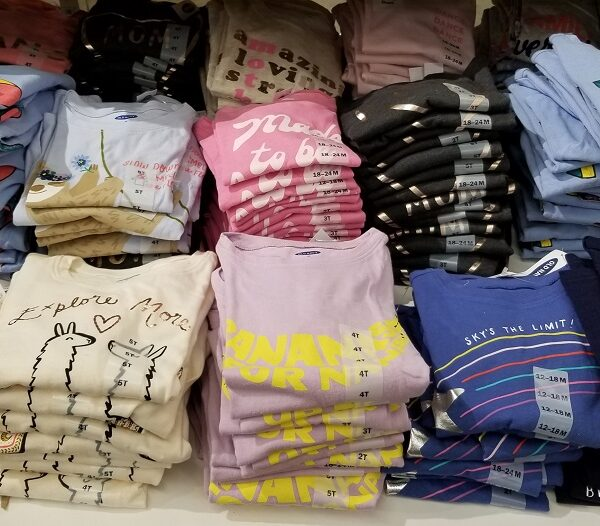 old navy tees for girls