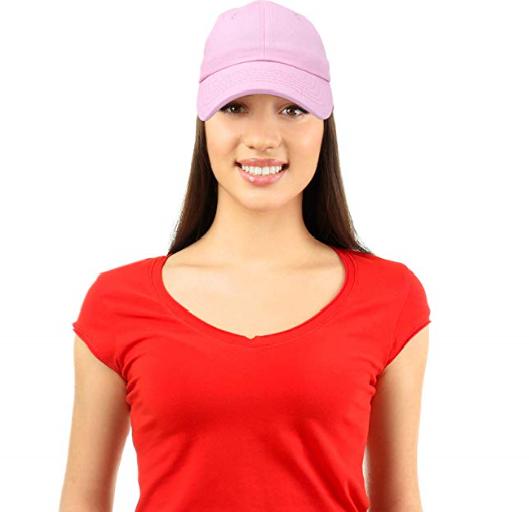Plain Baseball Caps – 20 Color Choices From $6.79 on Amazon!