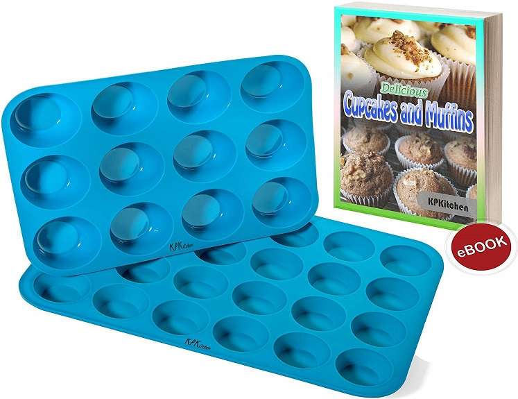 Silicone Baking Pans by KP Kitchen – Set of 2 Just $13.28 on Amazon!