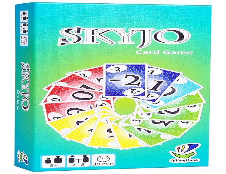 skyjo family card game