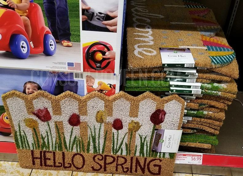 spring has sprung door mats