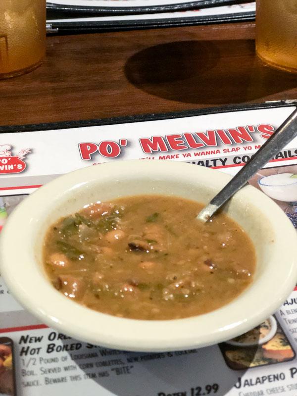 Po Melvins Black Eyed peas