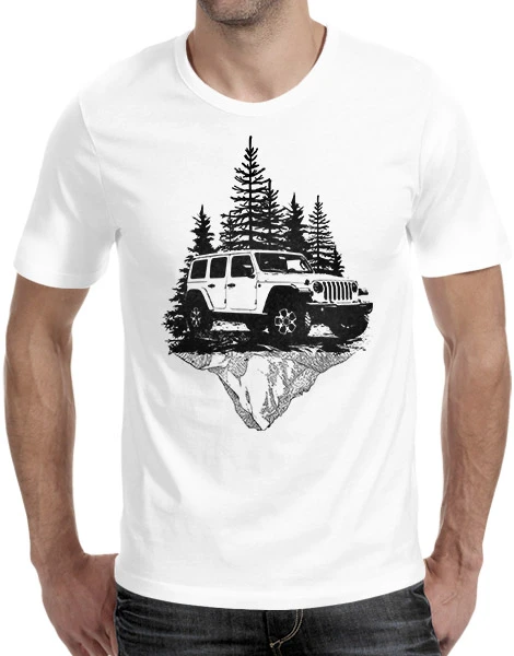 Fathers Day Jeep T shirt