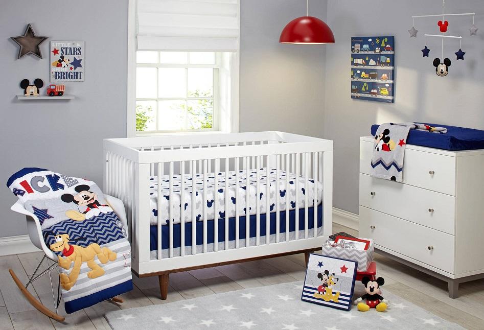 Mickey 4 Piece Crib Set $39.99 Shipped (Reg. $66) at Walmart