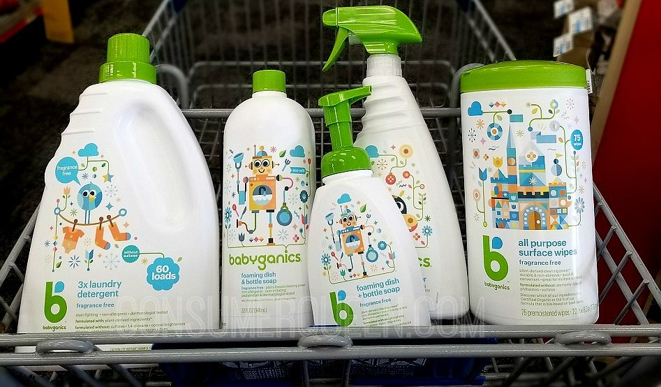 photo regarding Babyganics Coupon Printable referred to as Babyganics Clearance at CVS - 50% Off Detergent, Bottle Cleaning soap