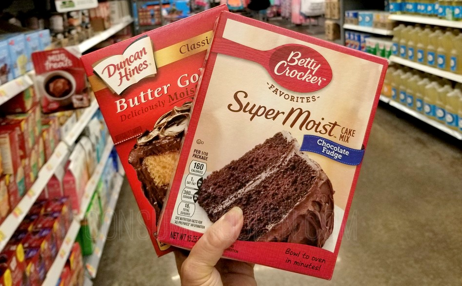 Cake Mixes as Low as 75¢ at Walmart After Cash Back