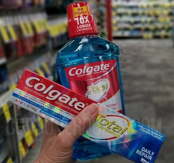 colgate toothpaste and mouthwash