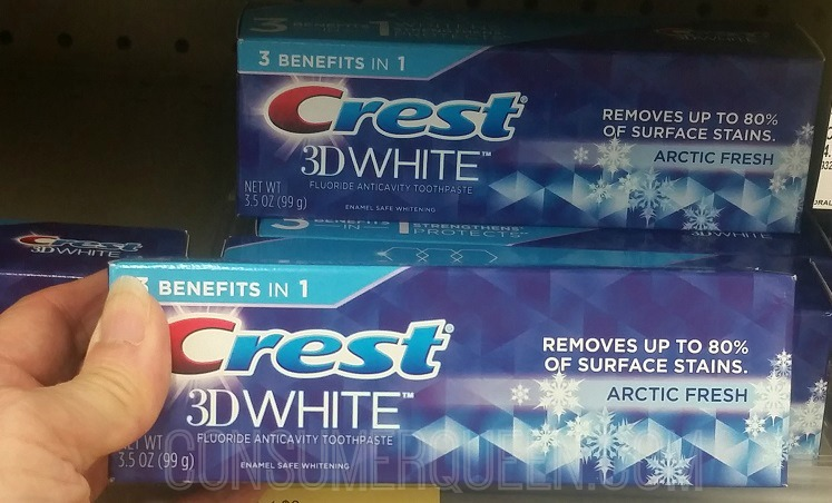 Crest Oral Products Only 32¢ Each at Walgreens After Rewards