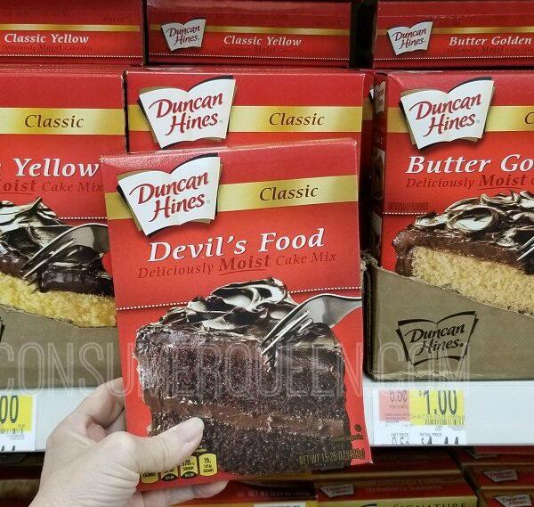 duncan hines cake mixes at walmart