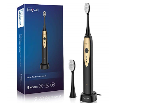 Fairywill Sonic Electric Toothbrush For Adults 22 49 On
