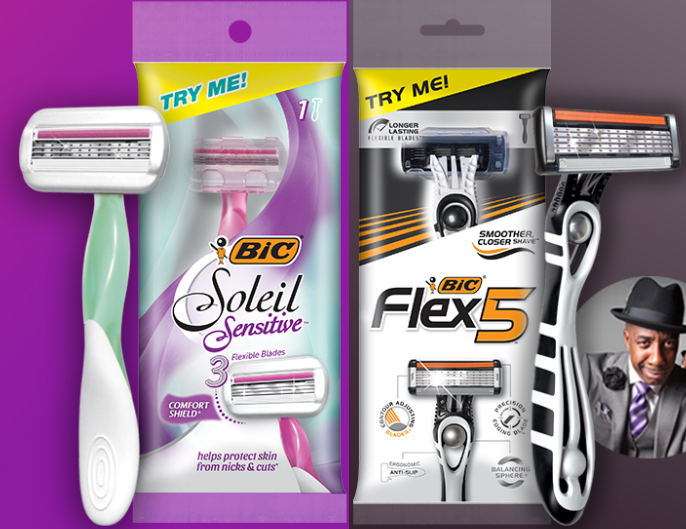 FREE Bic Disposable Razor – Request Yours Now!