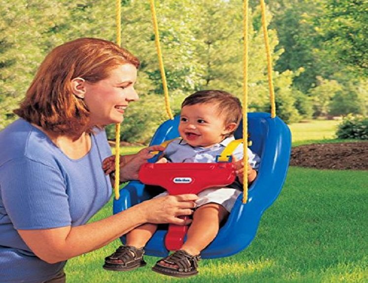 Grow With Me Swing by Little Tikes $23.88 on Amazon!