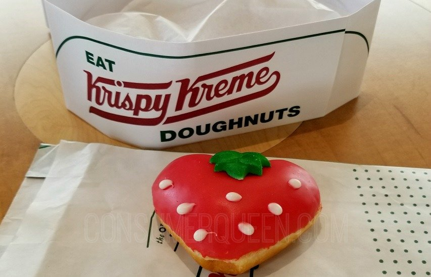 free Krispy Kreme Fruit Doughnut