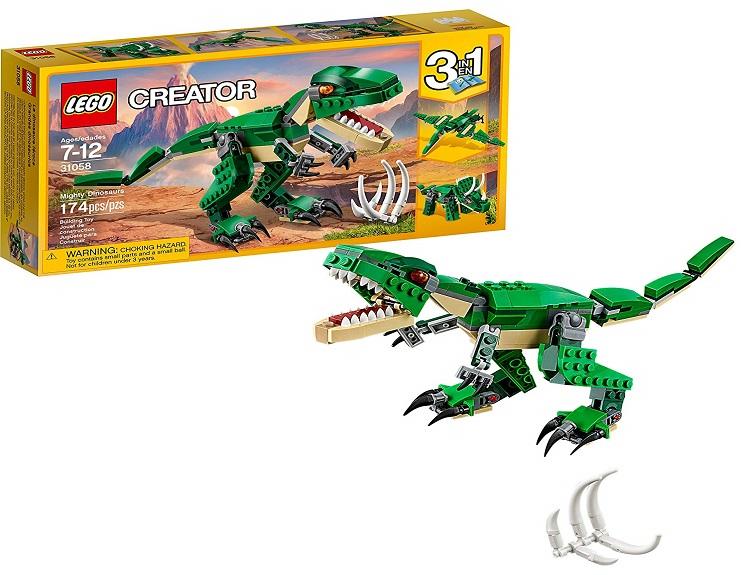 LEGO Creator Mighty Dinosaur Building Kit $11.99 on Amazon!
