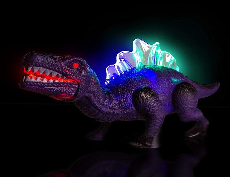 light up walking dinosaur