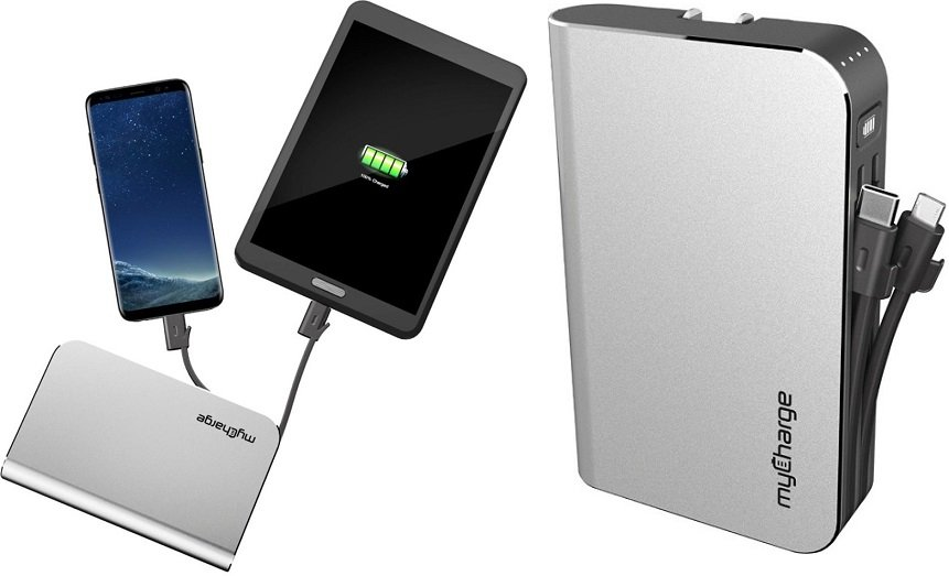 myCharge Portable Charger (10,050 mAh) $49.99 (Reg $100) Shipped!