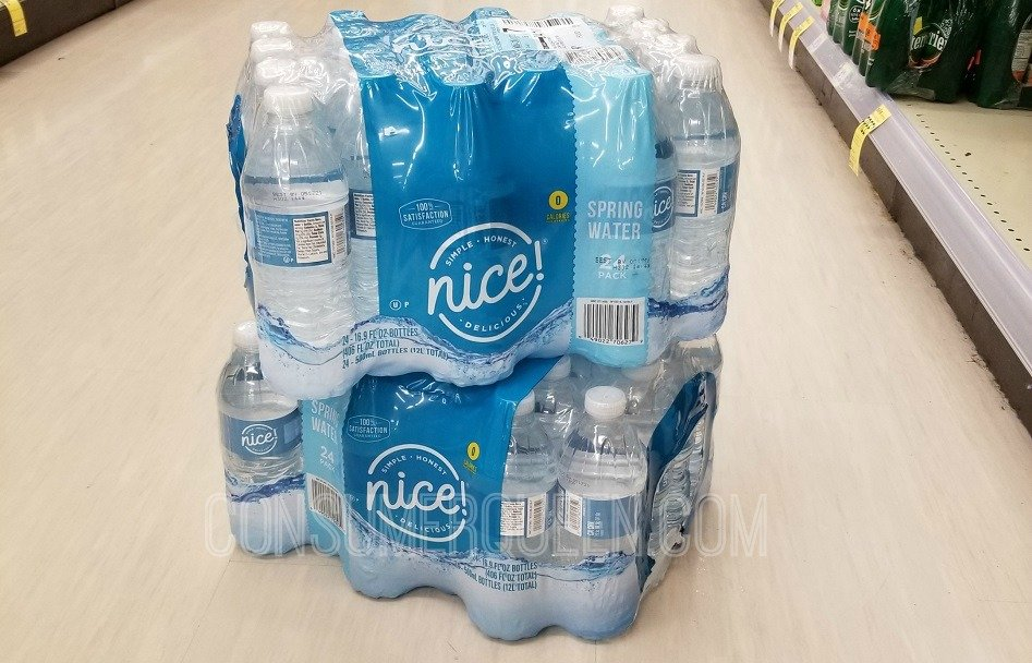 nice! bottled water 24 pack