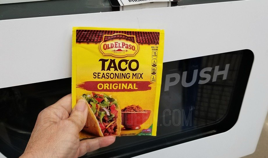 Old El Paso Taco Seasoning Popping Out Of The Freeosk This Week