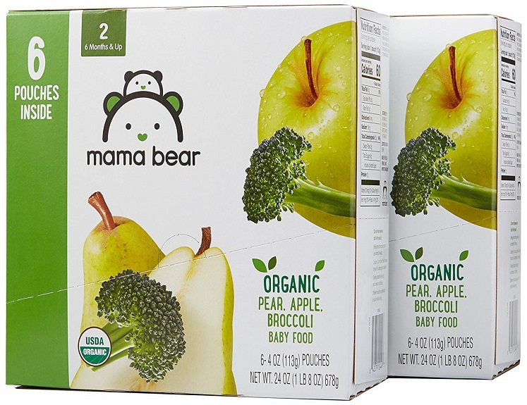 Organic Baby Food Pouches – 12 Pack – Just $11.75 on Amazon!