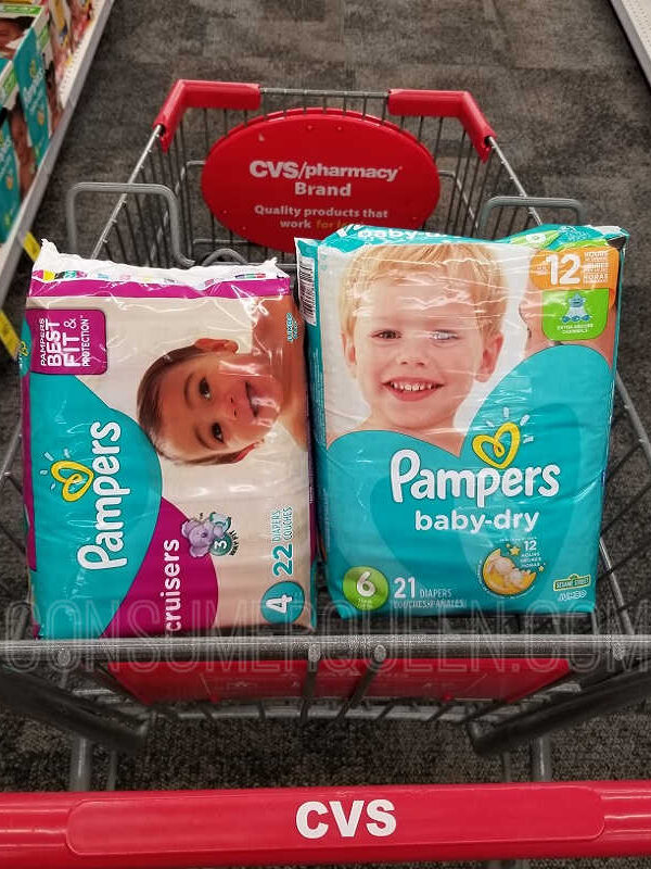 Pampers Diapers as Low as $5.44 at CVS After Cash Back