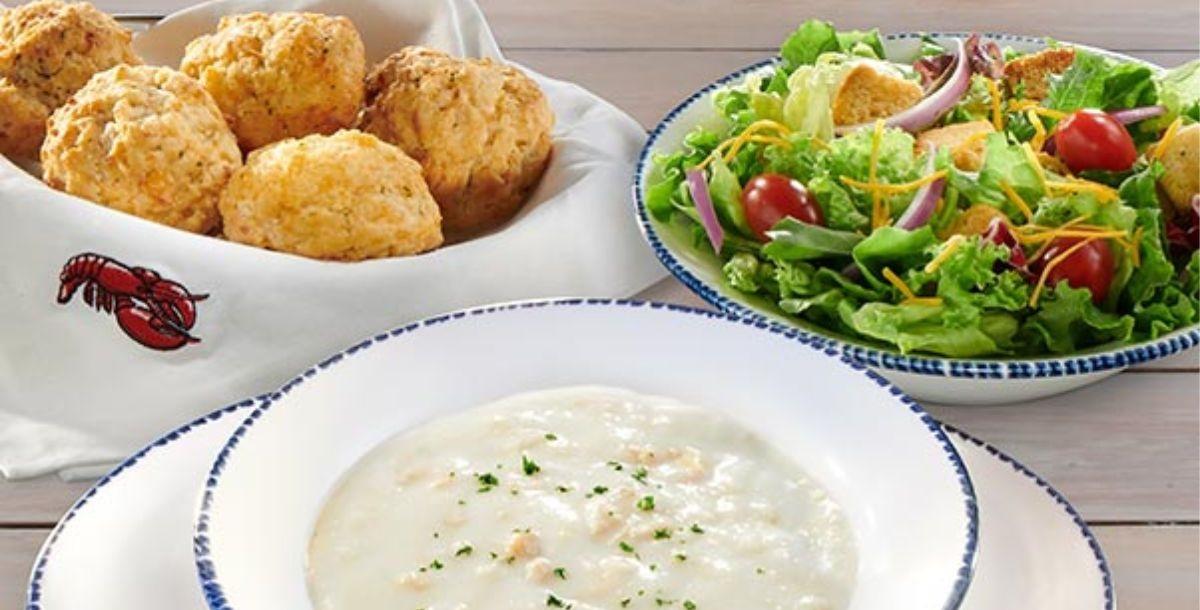 Red Lobster Endless Soup, Salad & Cheddar Bay Biscuits + More!