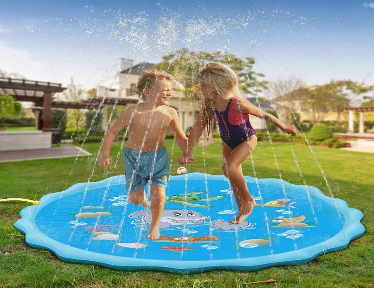 Sprinkler Splash Pad for Kids Just $22.99 on Amazon!