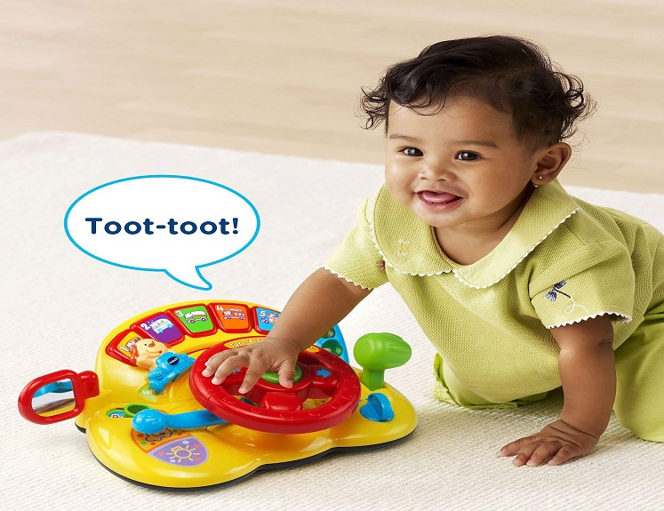 Turn and Learn Driver Toy by VTech Just $14.29(reg. $39.99) on Amazon!