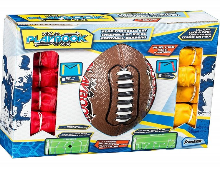 Youth Flag Football Set by Franklin Sports $21.56 on Amazon!