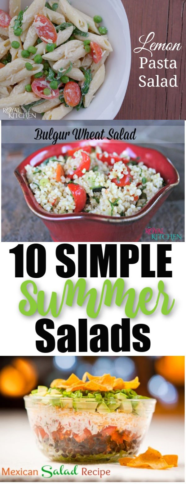 10 Simple Summer Salads