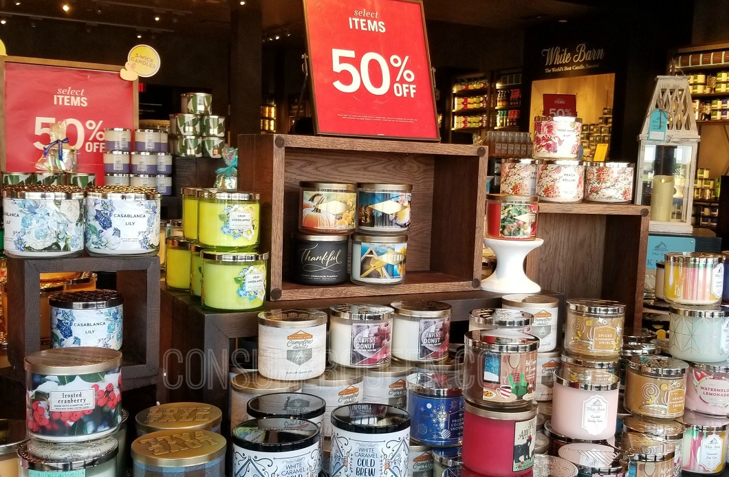 Semi Annual Sale At Bath Body Works 10 50 Candles 10 Off 40