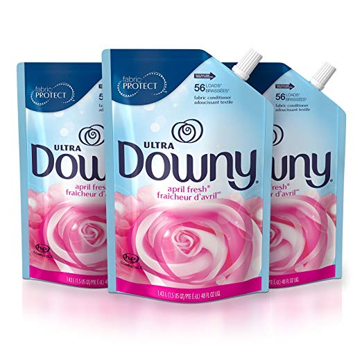 Amazon: Downy Ultra Liquid Fabric Softener Pouches $5.82! (Reg. $7.76)