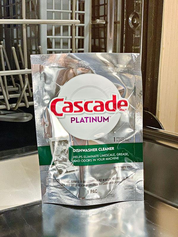 Cascade Dishwasher Cleaner