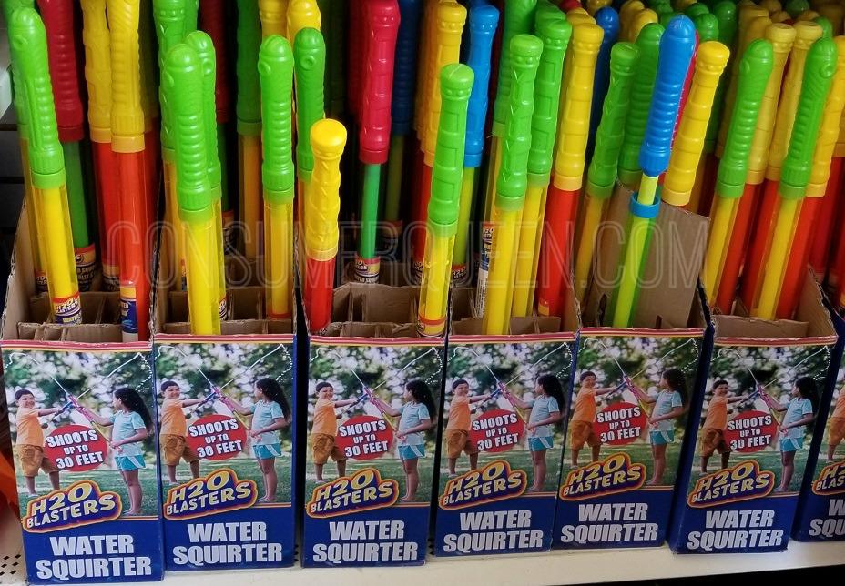 H2O blasters at dollar tree
