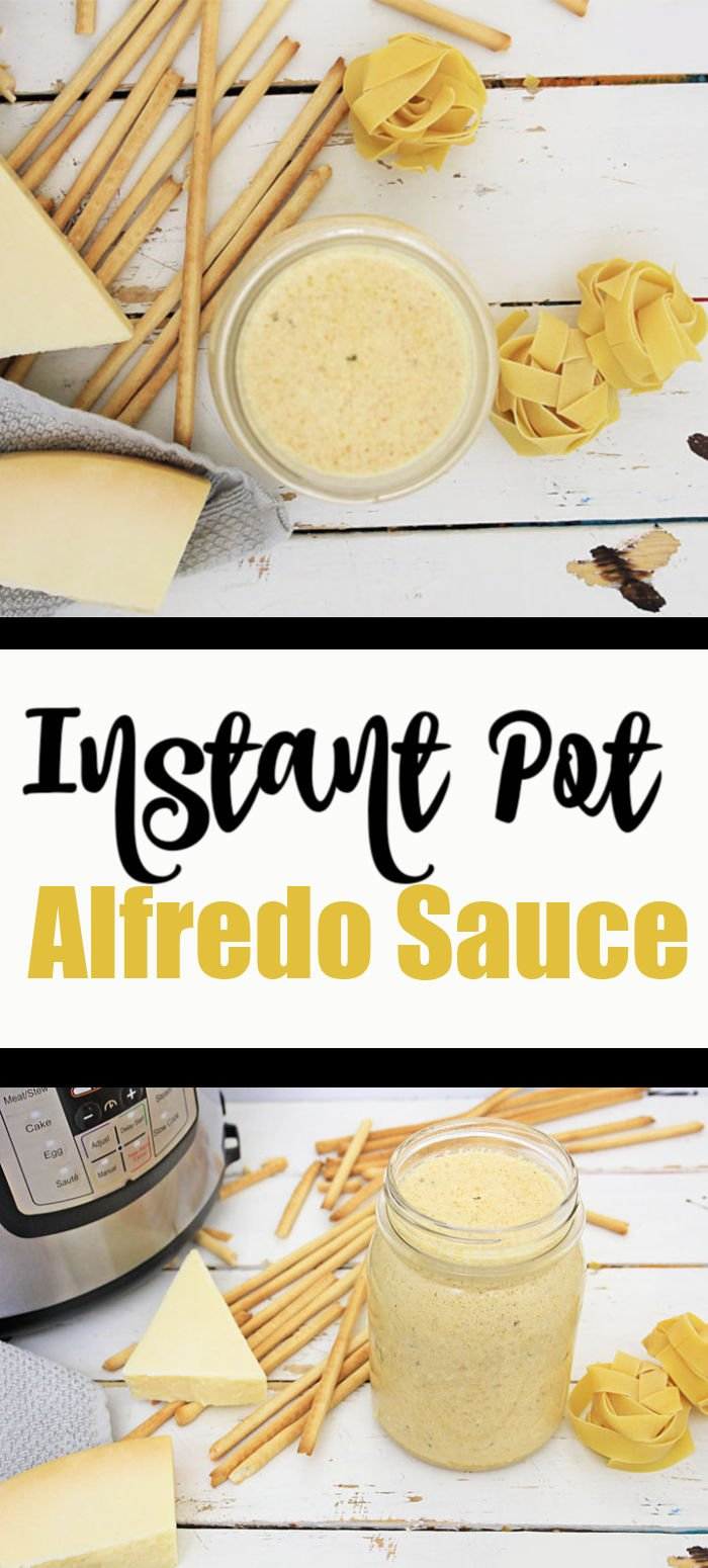 Instant Pot Alfredo Sauce