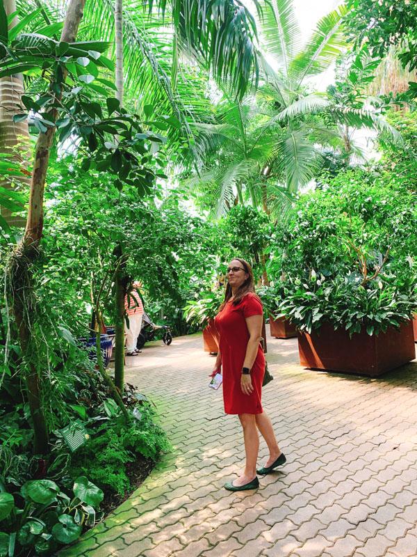 Myriad Botanical Gardens Nicky -Oklahoma City Girlfriend's Getaway