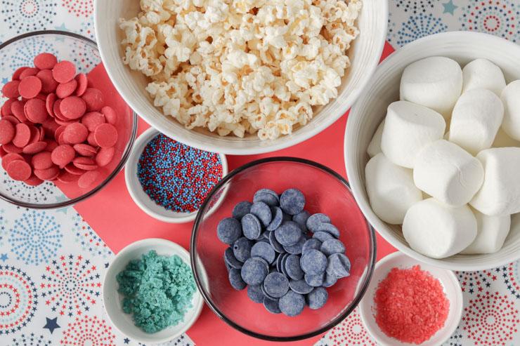 Popcorn ball ingredients