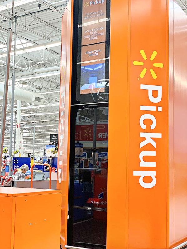 Walmart Online Pick Up